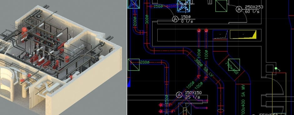 Using 3D software can give you a visual as can be seen here with the model from cadmiami.