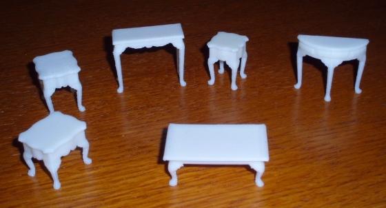 3D Printed doll furniture