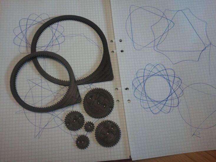 3D Printed spirograph