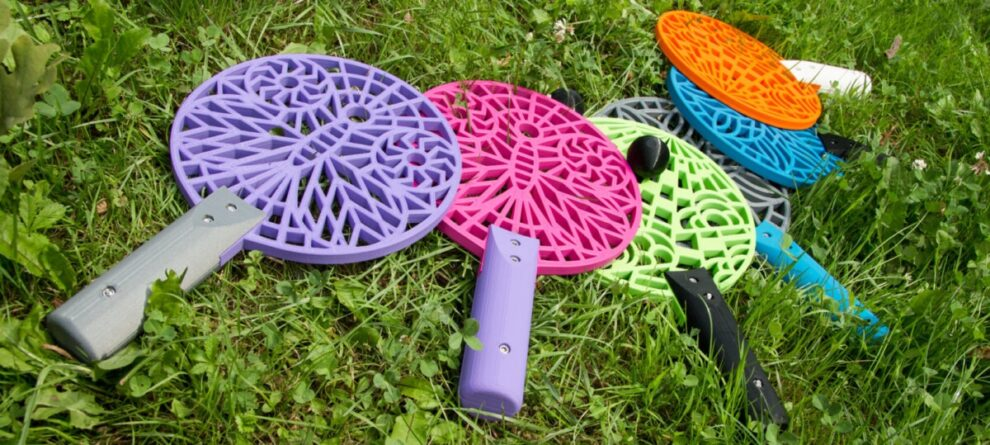 3D Printed rackets